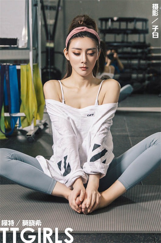 [TTGIRLS头条女神]2019-03-12 莫晓希 女神瑜伽[9+1P/14M]